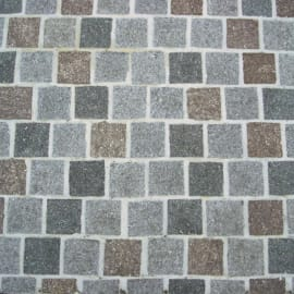 Lastra cubetto porfido 40 x 60 cm Sp 20 mm 24 mq
