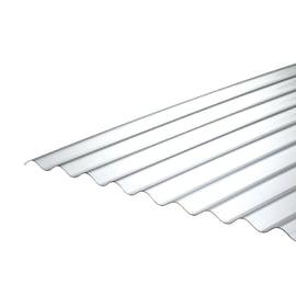 Lastra ondulata ONDULINE Lastra ondulata Onduclair PC Passo 76/18 in policarbonato H 112 x L 200 cm, Sp 0.8 mm