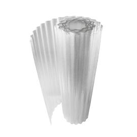 Rotolo ONDULINE Onduclair Plr Ondulato in poliestere 150 x 500 cm, Sp 1 mm neutro