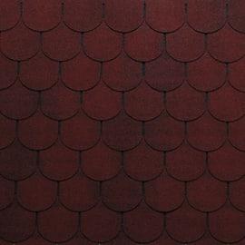 Tegola bituminosa ONDULINE Bardoline Pro in bitume 100 x 34 cm, Sp 3.4 mm rosso