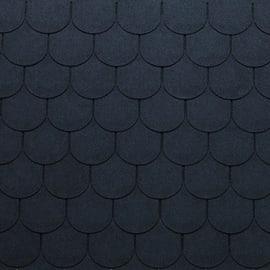 Tegola bituminosa ONDULINE Bardoline Pro in bitume 34 x 100 cm, Sp 3.4 mm nero