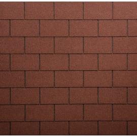 Tegola bituminosa ONDULINE Bardoline Classic in bitume 34 x 100 cm, Sp 3 mm rosso