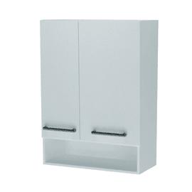 Mobile lavanderia Lavatoio bianco rivestito L 60 x P 35 x H 65 cm