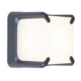 Applique Armor LED integrato in alluminio, grigio, 32W 560LM IP54 LUTEC