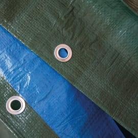 Telo in polietilene occhiellato L 6 m x H 10 cm 140 g/m²