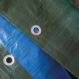 Telo in polietilene occhiellato L 5 m x H 8 cm 140 g/m²