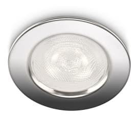 Faretto fisso da incasso tondo Sceptrum in plastica, grigio, diam. 9.5 cm LED integrato MAX4W IP20 PHILIPS 1 pezzi