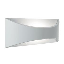 Applique Moon LED integrato in alluminio, bianco, 6W 320LM IP65