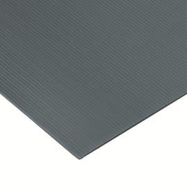 Lastra polionda polipropilene alveolare grigio 100 cm x 100 cm, Sp 2.5 mm