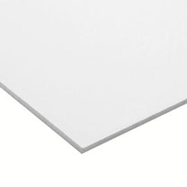 Lastra pvc espanso bianco 100 cm x 200 cm, Sp 3 mm
