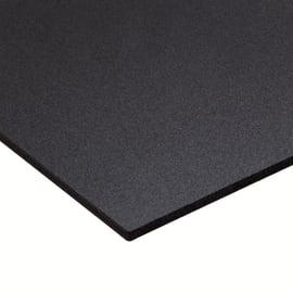 Lastra pvc espanso nero 50 cm x 100 cm, Sp 3 mm