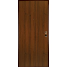 Porta blindata Bicolor bianco- noce L 90 x H 200 cm sinistra