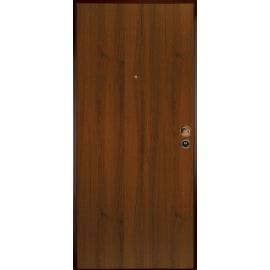 Porta blindata Bicolor bianco- noce L 90 x H 210 cm sinistra