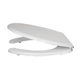 Copriwater ovale per vaso disabili bianco
