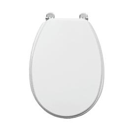 Copriwater ovale Piemonte bianco