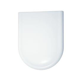 Copriwater ovale Clodia bianco