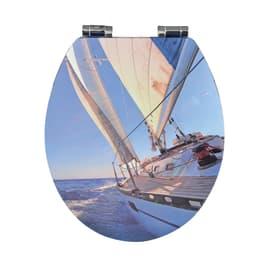 Copriwater tondo Navia decoro fantasia