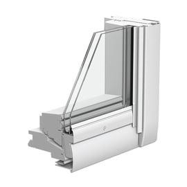 Finestra da tetto VELUX GGL CK04 2070  manuale L 55 x H 98 cm bianco