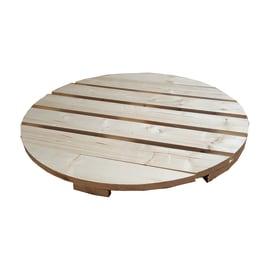 Piano tavolo tondo grezzo 44 mm Ø 800 mm