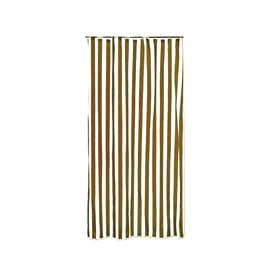 Tenda da sole ad anelli 150 x 250 cm marrone