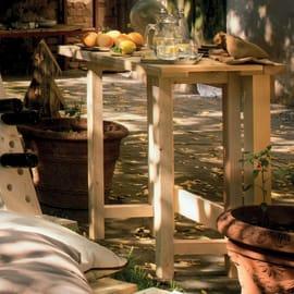 Tavolo rettangolare in legno L 50 x P 100 cm