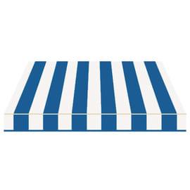 Tenda da sole a bracci estensibili manuale TEMPOTEST PARA' L 240 x H 210 cm avorio, blu Cod. 116/15