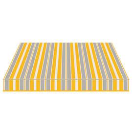 Tenda da sole a bracci estensibili manuale TEMPOTEST PARA' L 240 x H 210 cm azzurro, giallo, avorio Cod. 294