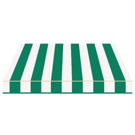 Tenda da sole a bracci estensibili manuale TEMPOTEST PARA' L 240 x H 210 cm avorio, verde Cod. 32