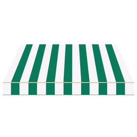 Tenda da sole a bracci estensibili manuale TEMPOTEST PARA' L 240 x H 210 cm avorio, verde Cod. 384