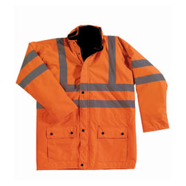 Giacca e gilet VEGA Sparta Tg XL arancione fluo