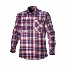 Camicia Shirt Check Tg L bianco rosso blu