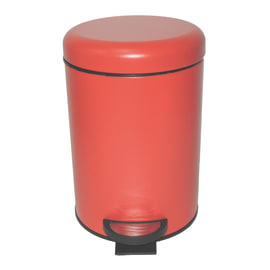 Pattumiera da bagno a pedale Pop rosso 3 L