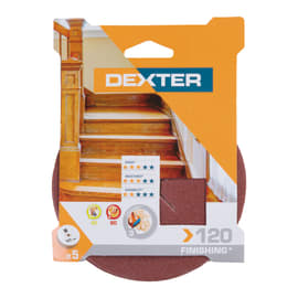 Disco abrasivo velcro ® DEXTER grana 120