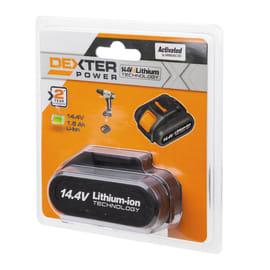 Batteria DEXTER POWER in litio (li-ion) 14.4 V 1.5 Ah