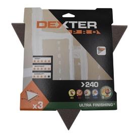 Delta abrasivo DEXTER PRO grana 240