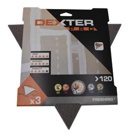 Delta abrasivo DEXTER PRO grana 120