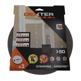 Disco abrasivo velcro ® DEXTER PRO grana 80