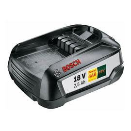 Batteria BOSCH PBA W-B in litio 18.0 V 2.5 Ah