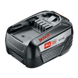 Batteria BOSCH in litio (li-ion) 18 V 6 Ah