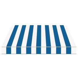 Tenda da sole a bracci estensibili manuale TEMPOTEST PARA' L 240 x H 210 cm avorio, blu Cod. 419