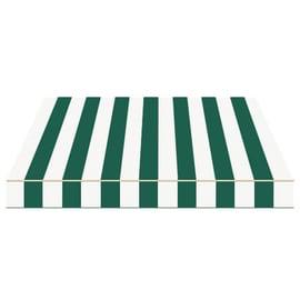 Tenda da sole a bracci estensibili manuale TEMPOTEST PARA' L 240 x H 210 cm avorio, verde Cod. 428