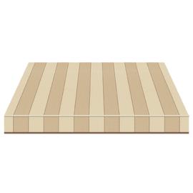Tenda da sole a bracci estensibili manuale TEMPOTEST PARA' L 240 x H 210 cm beige, avorio, marrone Cod. 5009/1