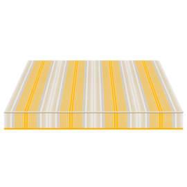 Tenda da sole a bracci estensibili manuale TEMPOTEST PARA' L 240 x H 210 cm azzurro, beige, giallo Cod. 5167/12