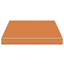 Tenda da sole a bracci estensibili manuale TEMPOTEST PARA' L 240 x H 210 cm arancione Cod. 54
