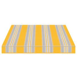 Tenda da sole a bracci estensibili manuale TEMPOTEST PARA' L 240 x H 210 cm avorio, azzurro, giallo Cod. 636/12