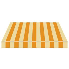 Tenda da sole a bracci estensibili manuale TEMPOTEST PARA' L 240 x H 210 cm beige, giallo Cod. 69