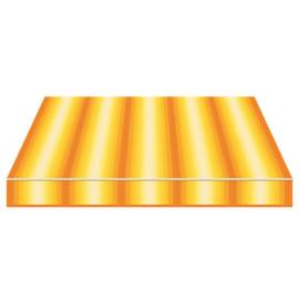 Tenda da sole a bracci estensibili manuale TEMPOTEST PARA' L 240 x H 210 cm arancione, giallo, avorio Cod. 770/55