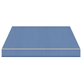 Tenda da sole a bracci estensibili manuale TEMPOTEST PARA' L 240 x H 210 cm azzurro Cod. 782/87