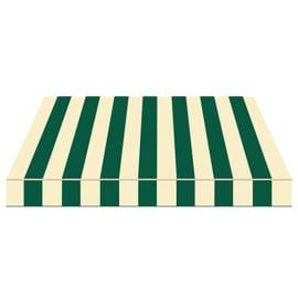Tenda da sole a bracci estensibili manuale TEMPOTEST PARA' L 240 x H 210 cm beige, verde Cod. 809