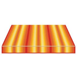 Tenda da sole a bracci estensibili manuale TEMPOTEST PARA' L 240 x H 210 cm arancione, grigio, marrone, rosso Cod. 963/55